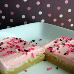 Sugar Cookie Bars from @KatrinasKitchen