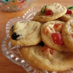 Jelly Bean Cookies from @KatrinasKitchen at www.inkatrinaskitchen.com