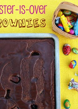 Easter-Is-Over Brownies