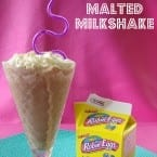 Malted Milkshake #recipe from @Katrinaskitchen