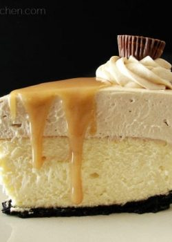 Peanut Butter Truffle Mousse Cheesecake