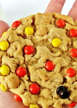 Soft Peanut Butter Oatmeal Cookies