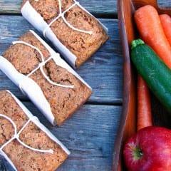 Fruit and Veggie Bread from @KatrinasKitchen