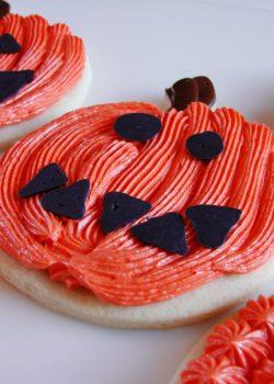 DIY Jack-O-Lantern Cookies