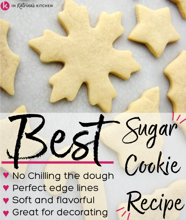 unfrosted sugar cookies in Christmas shapes laying on a flat surface