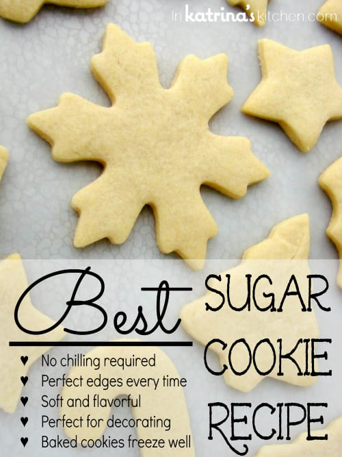Best Sugar Cookie Recipe EVER