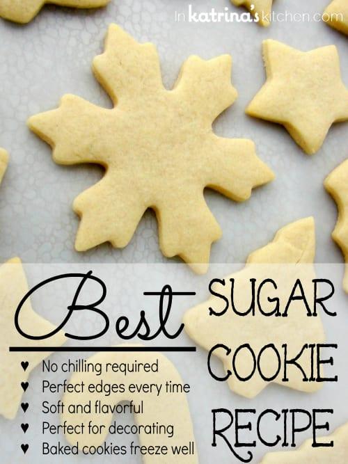 Best Sugar Cookie Recipe For Cookie Cutters
