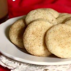 Eggnog Snickerdoodles from The Baker Chick on @KatrinasKitchen