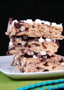 Cinnamon Toast S'mores Bars