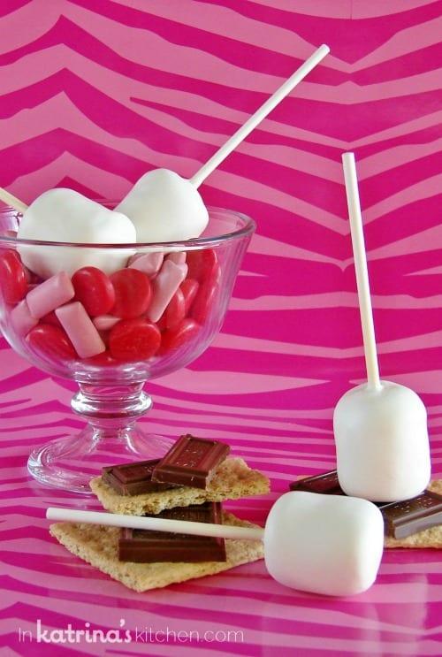 Surprise Inside Marshmallow Cake Pops