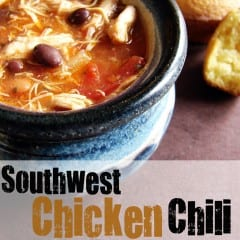 Southwest Chicken Chili from @KatrinasKitchen