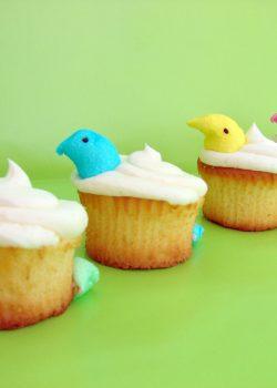 PEEPS Peek-a-Boo {Cupcakes} Just Wanna be Social
