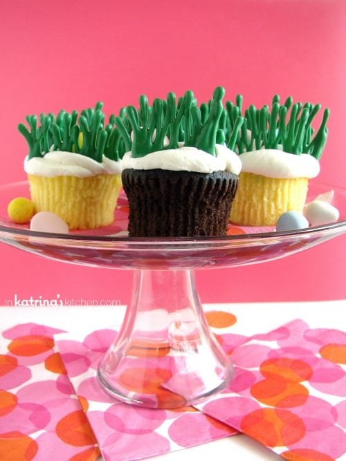 Easter Egg Hunt Cupcakes Tutorial