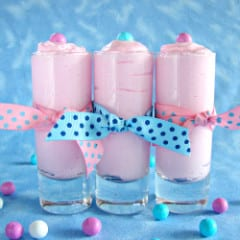 Cotton Candy Mousse from @KatrinasKitchen