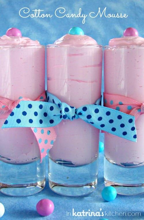 Cotton Candy Mousse Recipe