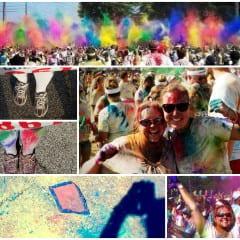 Color Run Collage