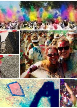 A 5k Challenge, Tie Dyed Treats, and The Color Run