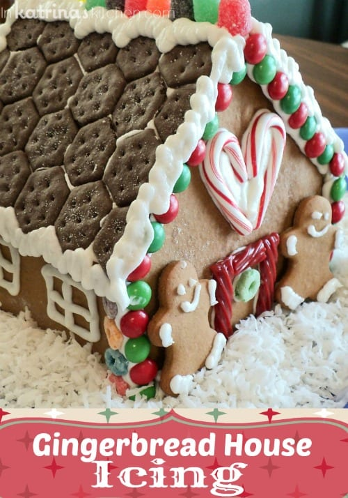 My very favorite Gingerbread House Icing Recipe