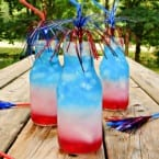 Layered Drinks July Fourth Edition @katrinaskitchen