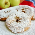 Easy as Pie Apple Fritters I@katrinaskitchen