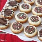 Peanut Butter Cup Cookies from Glorious Treats inkatrinaskitchen... #BringtheCOOKIES