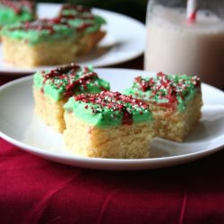 Low Carb and Gluten-Free Sugar Cookie Bars inkatrinaskitchen.com from All Day I Dream About Food #BringtheCOOKIES