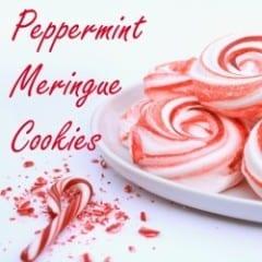 Peppermint Meringue Cookies inkatrinaskitchen... from LilaLoa #BringtheCOOKIES