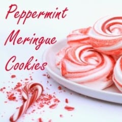 Peppermint Meringue Cookies inkatrinaskitchen... from LilaLoa #BringtheCOOKIES