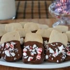 Peppermint Shortbread Cookies from Shugary Sweets inkatrinaskitchen... #BringtheCOOKIES