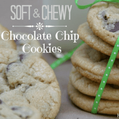 Soft and Chewy Chocolate Chip Cookies from Hoosier Homemade inkatrinaskitchen... #BringtheCOOKIES