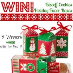 WIn a Set of 4 Biscoff Favor Boxes inkatrinaskitchen... #BringtheCOOKIES
