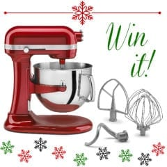Win a KitchenAid mixer at inkatrinaskitchen... Enter by Dec. 26 #BringtheCOOKIES