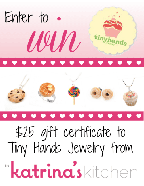 Tiny Hands Scented Jewelry Giveaway from @KatrinasKitchen