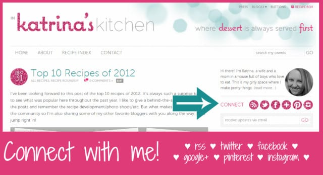 Introducing the NEW www.inkatrinaskitchen.com