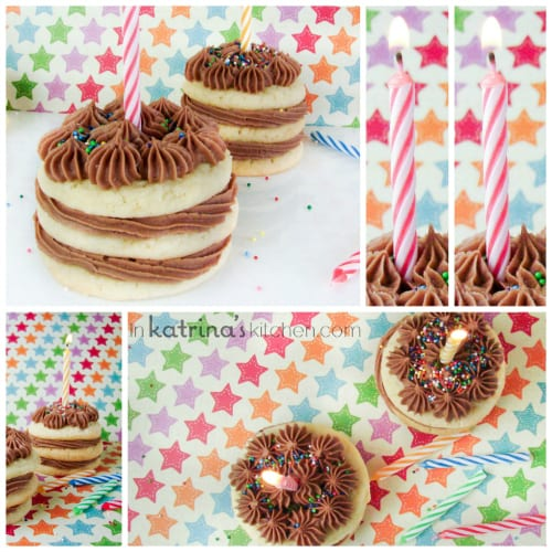 Cake Mix Cookie Cakes from @KatrinasKitchen on www.inkatrinaskitchen.com