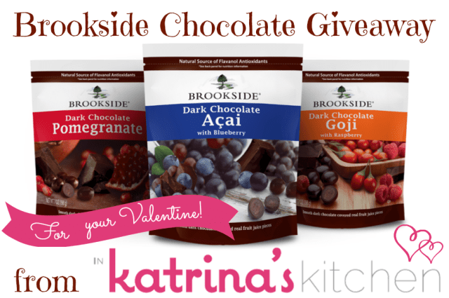 Brookside Chocolate Healthy Indulgences Tasting Kit Giveaway | www.inkatrinaskitchen.com