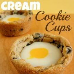 Cadbury Cream Cookie Cups Recipe | www.inkatrinaskitchen.com