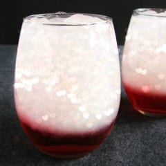 Valentine Layered Drinks for 2