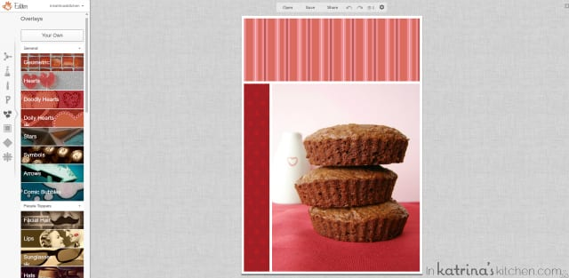 PicMonkey Tutorial Using Overlays | www.inkatrinaskitchen.com