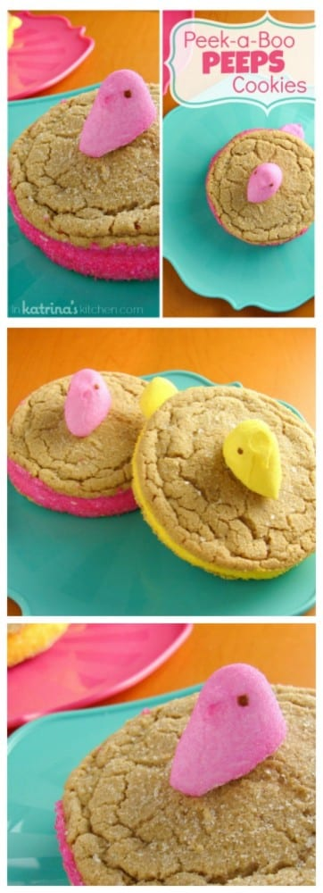 Peeps Peek a Boo Cookies Recipe