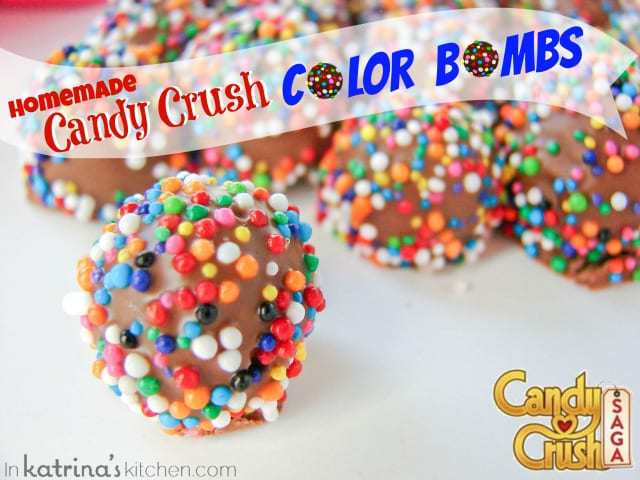 Candy Crush Color Bomb Candies | www.inkatrinaskitchen.com