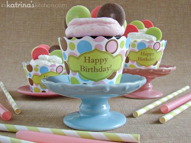 Dotty Cupcakes | www.inkatrinaskitchen.com