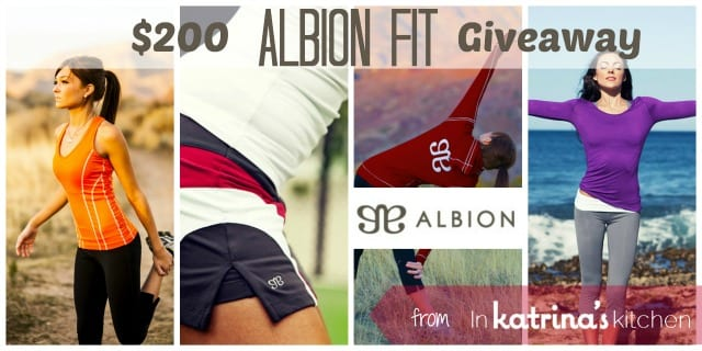 Albion FIt Giveaway In Katrinas Kitchen
