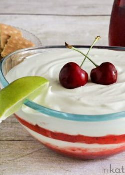 Cherry Limeade Fruit Dip