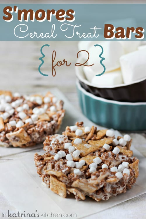 Cereal S'more Bars Recipe — Dishmaps