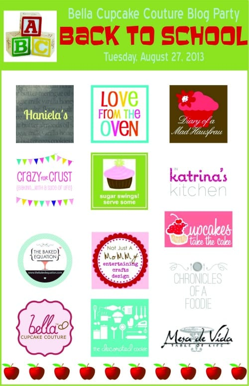 Bella Cupcake Couture Prize Pack Giveaway on @KatrinasKitchen