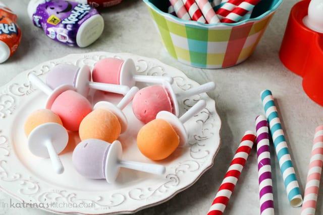 Kool Aid Yogurt Pops Recipe