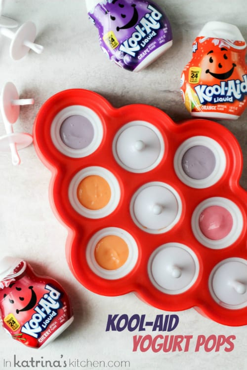 Kool Aid Yogurt Pops just like when you were a kid, only better!