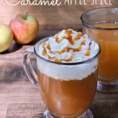 Starbucks Copycat Drink Recipe- Caramel Apple Spice www.inkatrinaskitchen.com