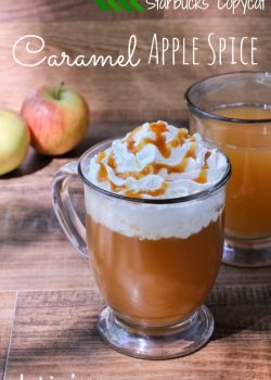 Caramel Apple Spice | A Starbucks Copycat Drink